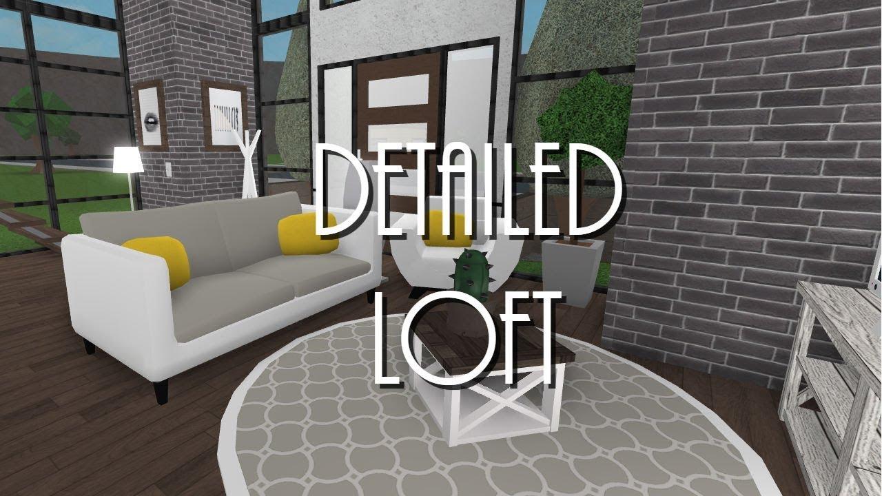 BLOXBURG | Detailed Loft 37k - YouTube