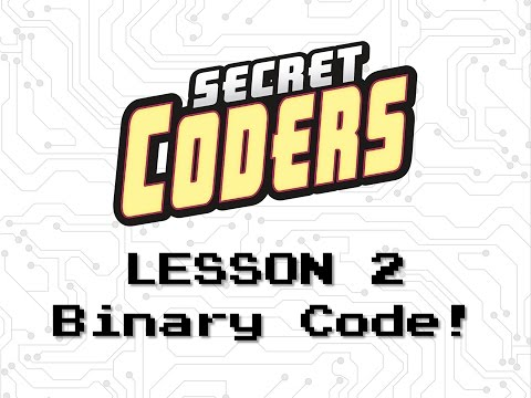 Secret Coders Old School Coding School - Lesson 2