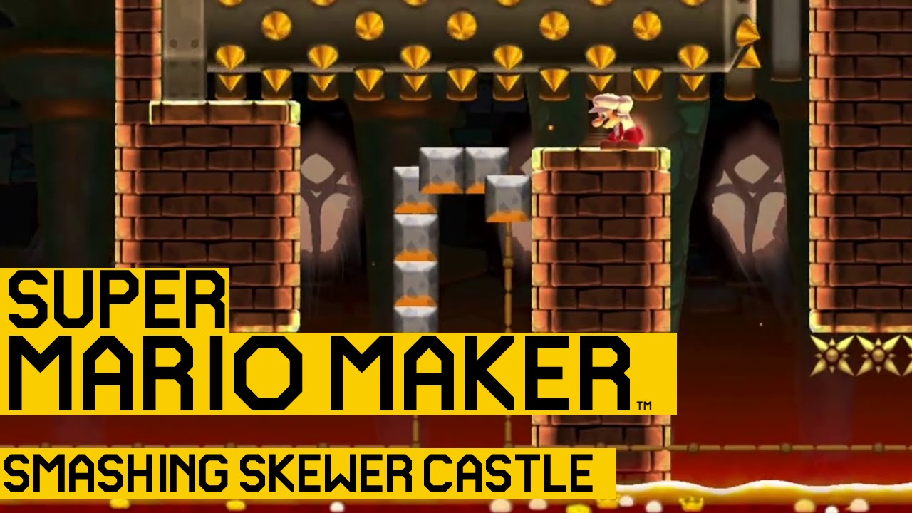 Mario Maker gets keys, locks, skewers, and a Super Expert mode ...