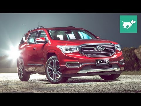 Holden Acadia 2019 review (GMC Acadia)
