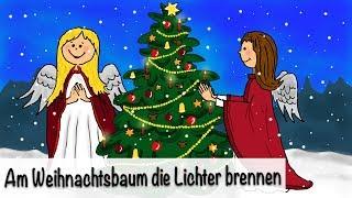 Weihnachtslieder deutsch - Am Weihnachtsbaum die Lichter brennen