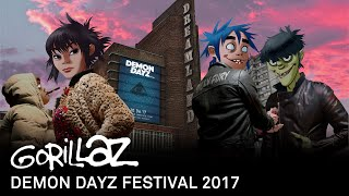 Gorillaz - Demon Dayz Festival 2017, UK (Full Show)