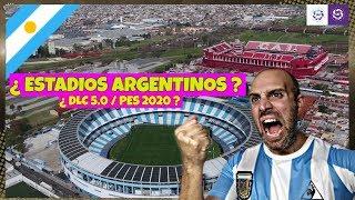 PES 2020 / DLC 5.0 PES 2019 ¿ NUEVOS ESTADIOS ARGENTINOS ?