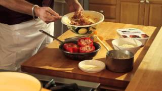 Cooking With Daniel: Mamamancini's Stuffed Peppers