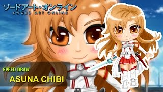 Speed Drawing Asuna Yuuki Chibi ™ [Sword Art Online]