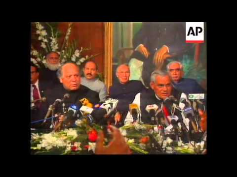 PAKISTAN: LAHORE DECLARATION SIGNED WITH INDIA
