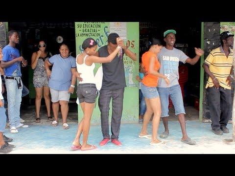 Dancing a Bachata