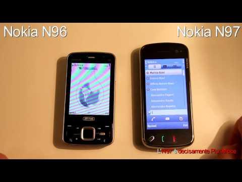 VideoConfronto Nokia N97 vs Nokia N96 MobilepassionBlog Parte 1 HD