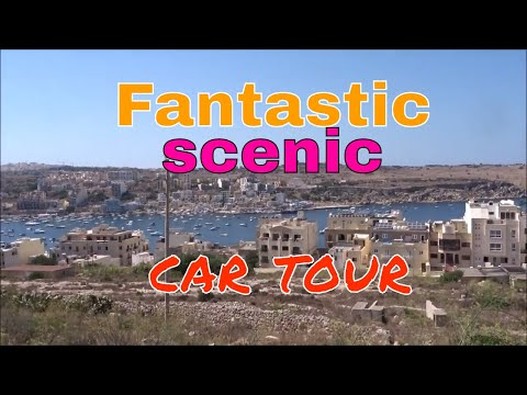 Fantastic scenic car tour to malta/Gozo ferry terminal