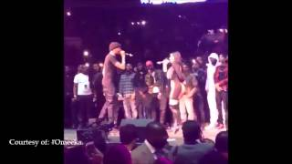 MEEK MILL and NICKI MINAJ Showing PDA at Powerhouse Philly
