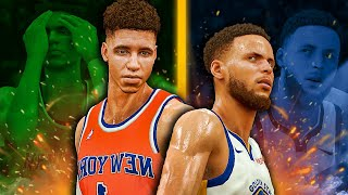 Lamelo Ball MyCareer #5 | Steph Curry & Lamelo Ball Combined for 100 Points?!? | NBA 2k20 Best Build