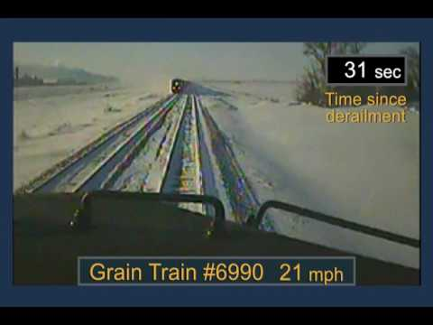 BNSF Railway Train Derailment and Subsequent Train Collision