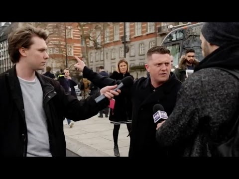 London attack: Leftists laugh at Tommy Robinson