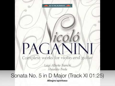 Paganini - Complete works for violin and guitar CD 7-9