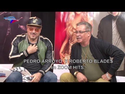 Entrevista con Pedro Arroyo y Roberto Blades en Barcelona