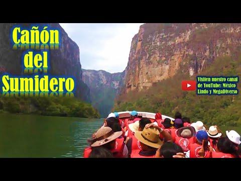 Recorrido por el Cañón del SUMIDERO Chiapas México