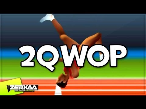 THIS GAME ISN'T FOR ME | 2QWOP (with Simon)