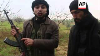 FSA fighters attack on military academy and army base