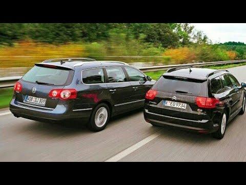 Citroën C5 2008+ vs VW Passat B6 Road Test