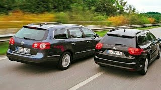 Citroën C5 2008+ vs VW Passat B6 Road Test