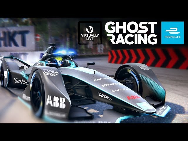 Formula E Launches Ghost Racing Abb Fia Championship You