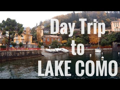 Lake COMO | Varenna and Bellagio from MILAN by Train 🚆🚝
