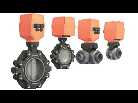 Electric Actuators Type EA25-250 - GF Piping Systems - English