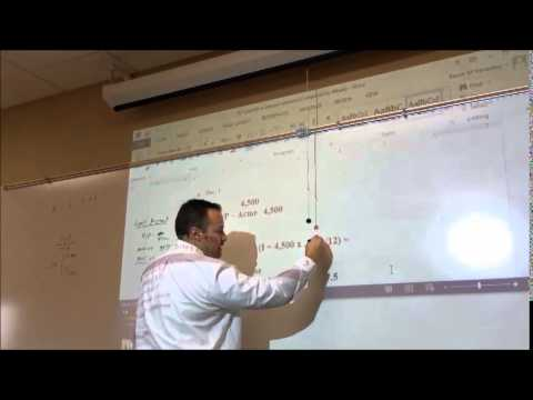 ACCT 101 - Payments on Notes Payable - Mortgage Expense and Mortgage Expense Credit #37