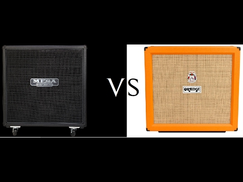 *ORANGE -VS- MESA 4x12 Cabs*  NEW (Eric Shreds)
