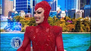 Drag Queen Sensation Sasha Velour Down Under | Studio 10