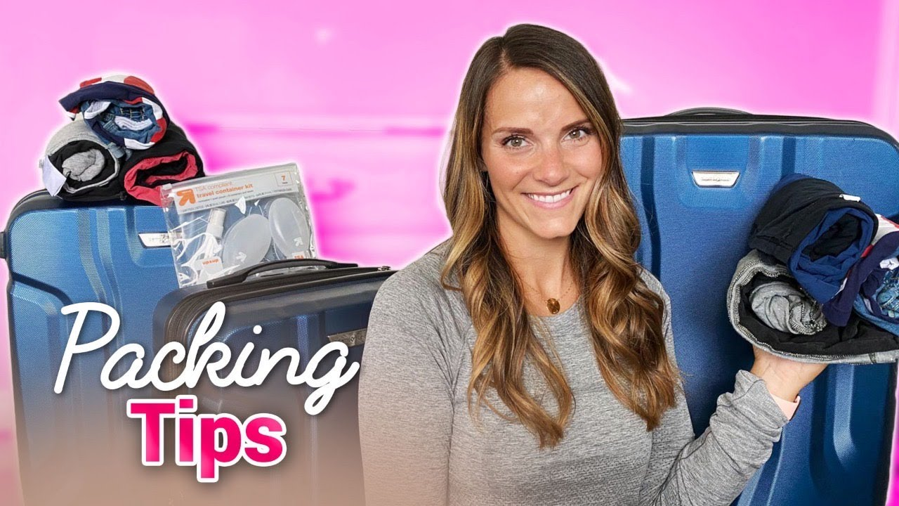 TRAVEL PACKING TIPS | HOW TO PACK FOR VACATION WITH KIDS