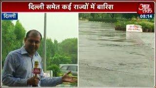 Respite From Heat As Rain Lashes Delhi