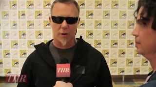 Comic Con James Hetfield on Metallica Through the Never Interview