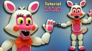 fnaf world adventure funtime foxy toy foxy tutorial polymer clay porcelana fria reupload