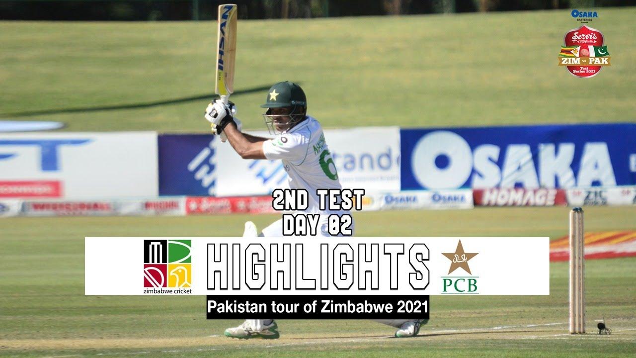 Zimbabwe vs Pakistan Highlights | 2nd Test | Day 2 | Pakistan tour of Zimbabwe 2021