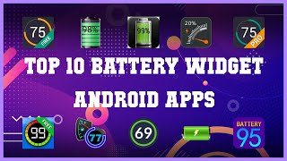 Top 10 Battery Widget Android App   Review screenshot 2