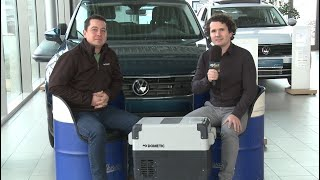Das Auto Esthofer Team und die Dometic Kühlbox
