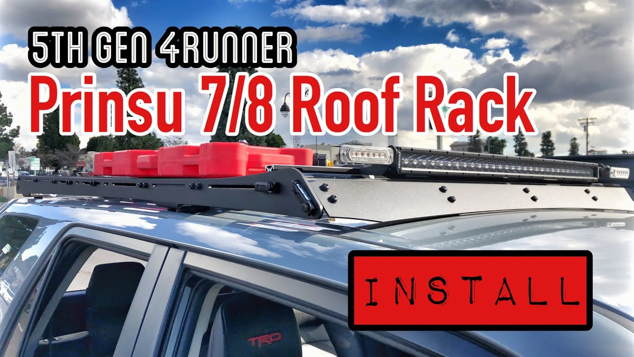 Part37][4K] PRINSU 7/8 Roof Rack   Install & Review   5th Gen