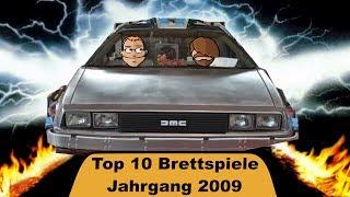 Crons Top 10 Brettspiele - Jahrgang 2009