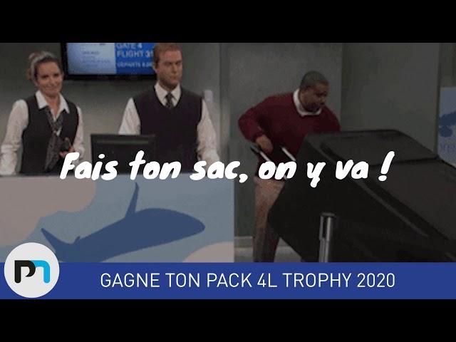 Présentation jeu concours 4L Trophy Palamatic Process