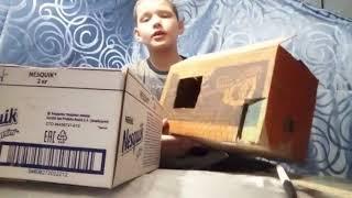 Делаю кукольный домик из коробки часть-2