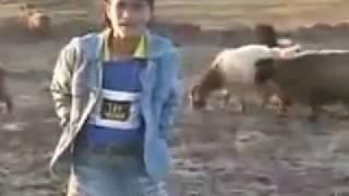 Kurdish child singing Kurdish song#! AMAZING VOICE