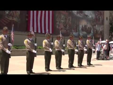 Musical Salute to Service Veterans Theme Songs & 21Gun Salute Memorial Day LA