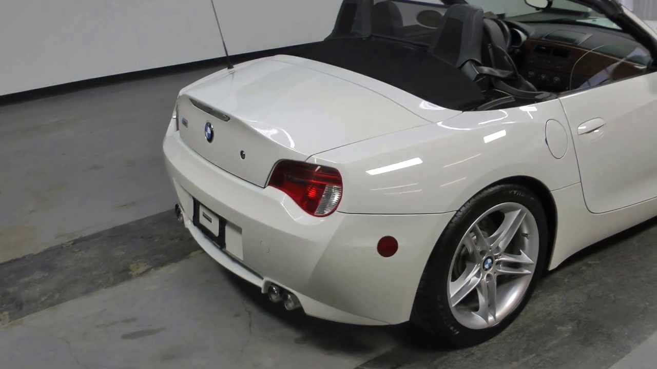 Used 2008 Bmw Z4 M Roadster For Sale Youtube