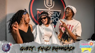 Actress & DJ, Thuli Phongolo, speaks on growing up ekasi, getting into the industry and more