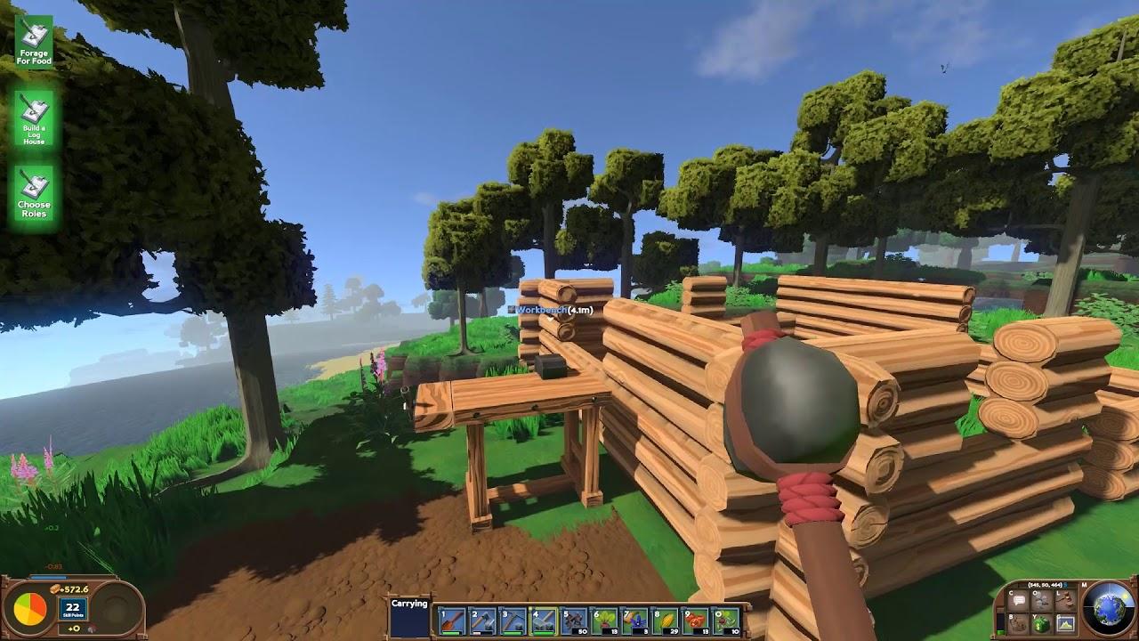 Eco Wir Bauen Ein Haus Und Bauen Baume An 02 Youtube