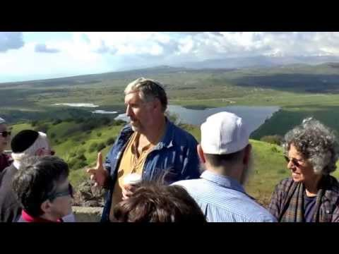Golan Heights Tour with Honest Reporting  April 2015 part 2
