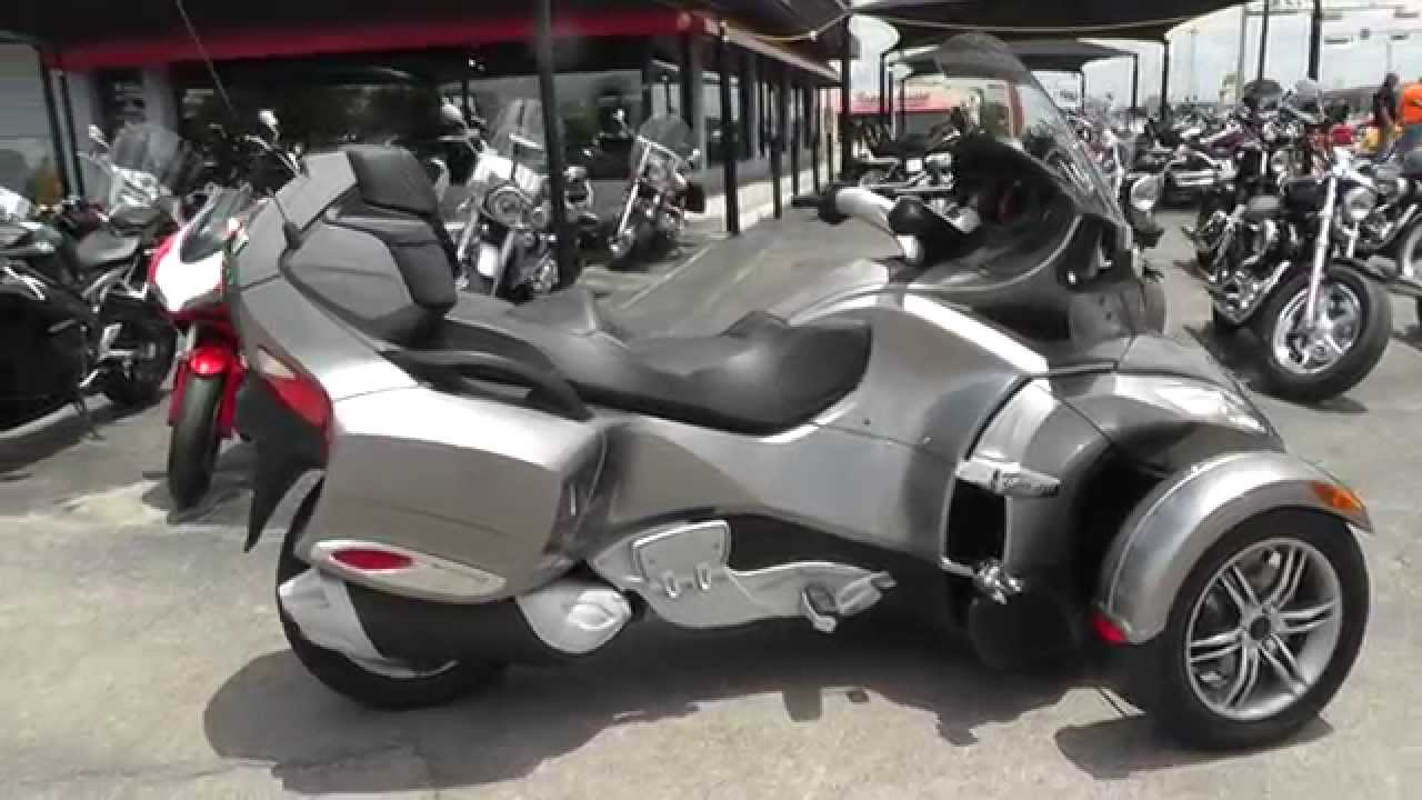 002232 2012 can am spyder rts sm5 used motorcycle for sale