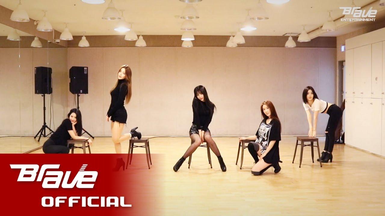 브레이브걸스 (Brave Girls) - 롤린 (Rollin') Dance Practice Video (사복 ver.)