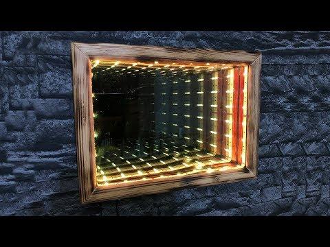 DIY Illusion Infinity Mirror!